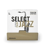 RSF01TSX3S-B25 Select Jazz Трости для саксофона тенор, размер 3, мягкие (Soft), 25шт, Rico