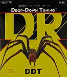 DDT5-55 Drop-Down Tuning Комплект струн для 5-струнной бас-гитары, сталь, Heavy, 55-135, DR