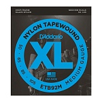 ETB92M Tapewound Комплект струн для бас-гитары, Medium, 50-105, Medium Scale, D'Addario