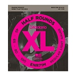 ENR71M Half Rounds Комплект струн для бас-гитары, Regular Light, 45-100, Medium Scale, D'Addario